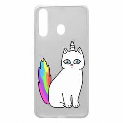 Чехол для Samsung A60 Cat Unicorn