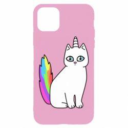 Чехол для iPhone 11 Cat Unicorn