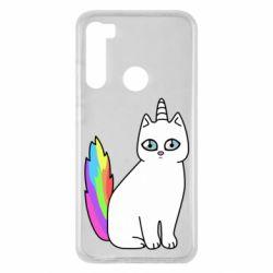 Чехол для Xiaomi Redmi Note 8 Cat Unicorn