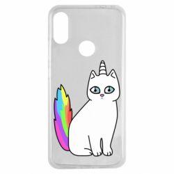 Чехол для Xiaomi Redmi Note 7 Cat Unicorn