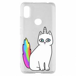 Чехол для Xiaomi Redmi S2 Cat Unicorn