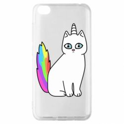 Чехол для Xiaomi Redmi Go Cat Unicorn