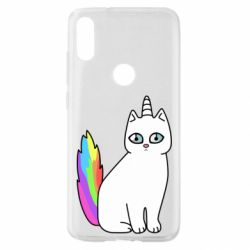 Чехол для Xiaomi Mi Play Cat Unicorn
