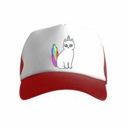 Детская кепка-тракер Cat Unicorn