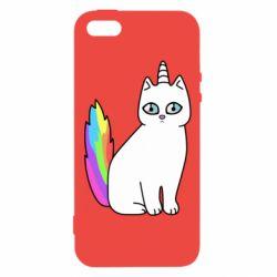 Чехол для iPhone5/5S/SE Cat Unicorn