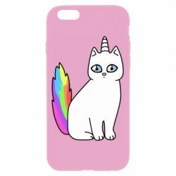 Чехол для iPhone 6/6S Cat Unicorn