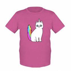Детская футболка Cat Unicorn