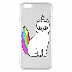 Чехол для iPhone 6 Plus/6S Plus Cat Unicorn