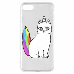 Чехол для iPhone 7 Cat Unicorn