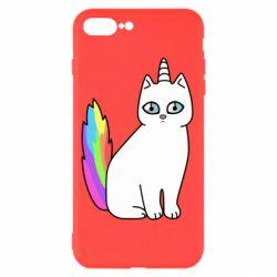 Чехол для iPhone 8 Plus Cat Unicorn