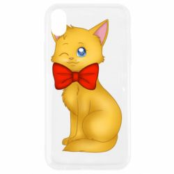 Чохол для iPhone XR Cat with a bow