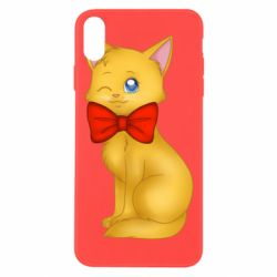 Чохол для iPhone Xs Max Cat with a bow