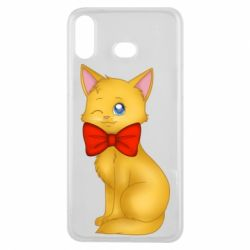 Чохол для Samsung A6s Cat with a bow