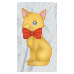 Рушник Cat with a bow