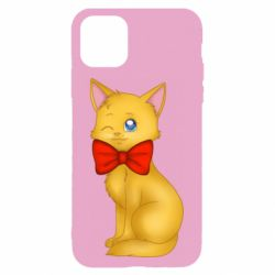 Чохол для iPhone 11 Cat with a bow