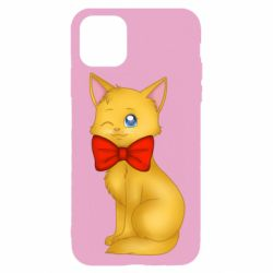 Чохол для iPhone 11 Pro Cat with a bow