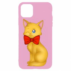 Чохол для iPhone 11 Pro Max Cat with a bow