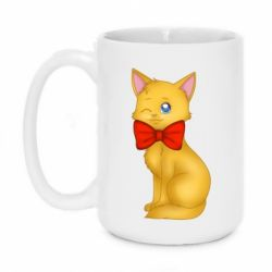 Кружка 420ml Cat with a bow