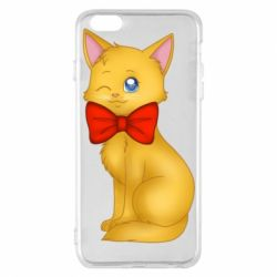 Чохол для iPhone 6 Plus/6S Plus Cat with a bow