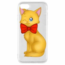 Чохол для iPhone 7 Cat with a bow