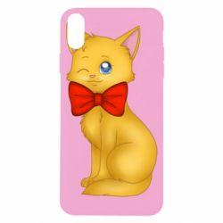 Чохол для iPhone X/Xs Cat with a bow