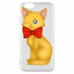 Чохол для iPhone 6/6S Cat with a bow