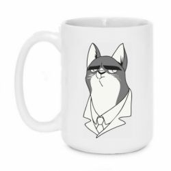 Кружка 420ml Cat with a collar