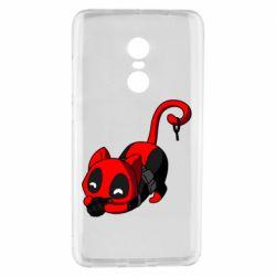 Чехол для Xiaomi Redmi Note 4 Cat with a grenade