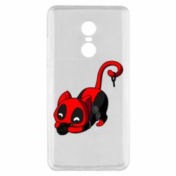 Чехол для Xiaomi Redmi Note 4x Cat with a grenade
