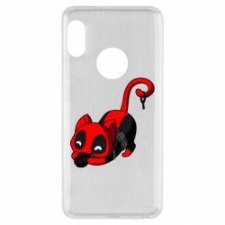 Чехол для Xiaomi Redmi Note 5 Cat with a grenade