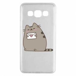 Чохол для Samsung A3 2015 Cat with a letter