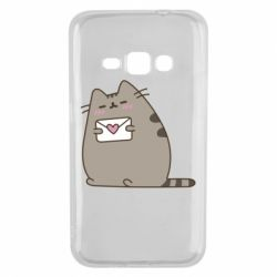 Чохол для Samsung J1 2016 Cat with a letter