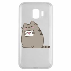 Чохол для Samsung J2 2018 Cat with a letter