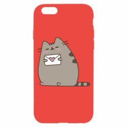 Чохол для iPhone 6/6S Cat with a letter