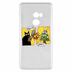 Чехол для Xiaomi Mi Mix 2 Cat with a saw