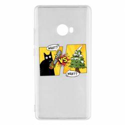 Чехол для Xiaomi Mi Note 2 Cat with a saw
