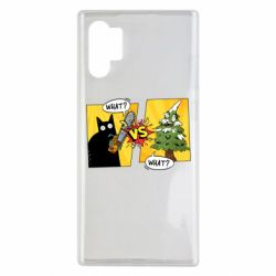 Чехол для Samsung Note 10 Plus Cat with a saw