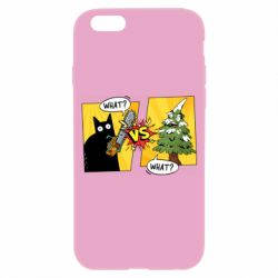 Чехол для iPhone 6/6S Cat with a saw