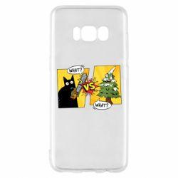 Чехол для Samsung S8 Cat with a saw