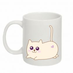 Кружка 320ml Cat with a smile