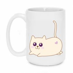 Кружка 420ml Cat with a smile