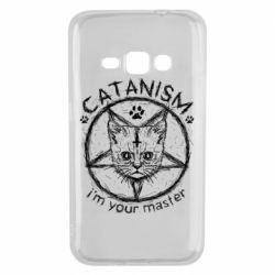Чехол для Samsung J1 2016 CATANISM i am you master