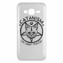 Чехол для Samsung J3 2016 CATANISM i am you master