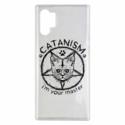 Чехол для Samsung Note 10 Plus CATANISM i am you master