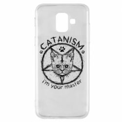 Чехол для Samsung A6 2018 CATANISM i am you master