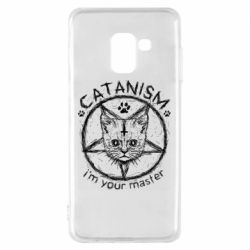 Чехол для Samsung A8 2018 CATANISM i am you master