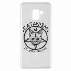 Чехол для Samsung A8+ 2018 CATANISM i am you master