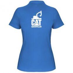 Жіноча футболка поло Caterpillar cat