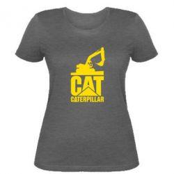 Жіноча футболка Caterpillar cat
