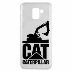 Чохол для Samsung J6 Caterpillar cat